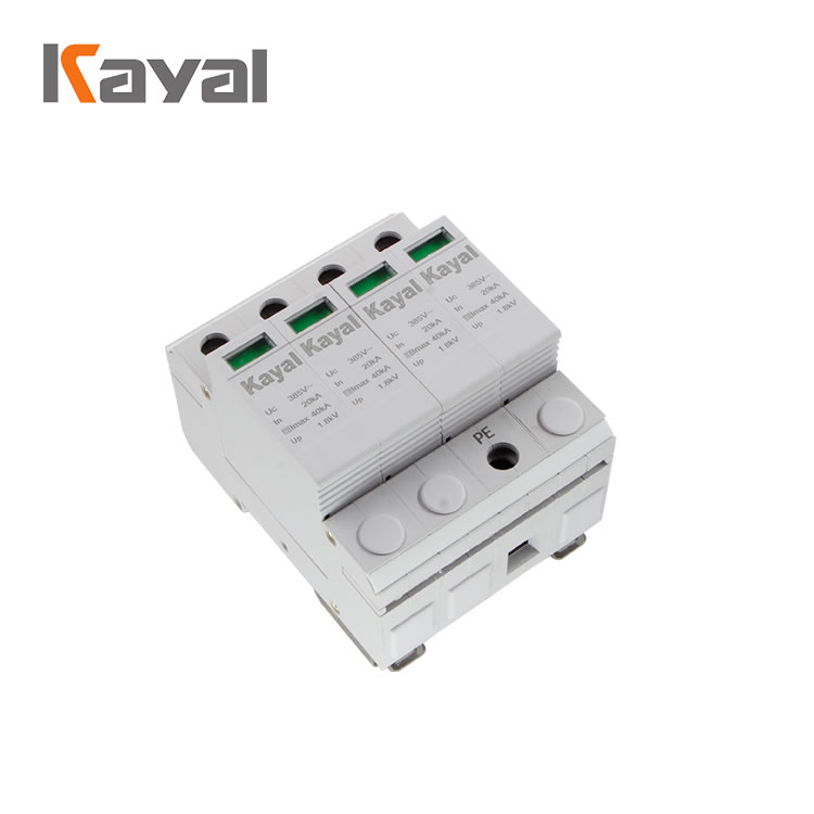 Solar solar surge protection 1000v photovoltaic lightning protection outdoor surge protector device
