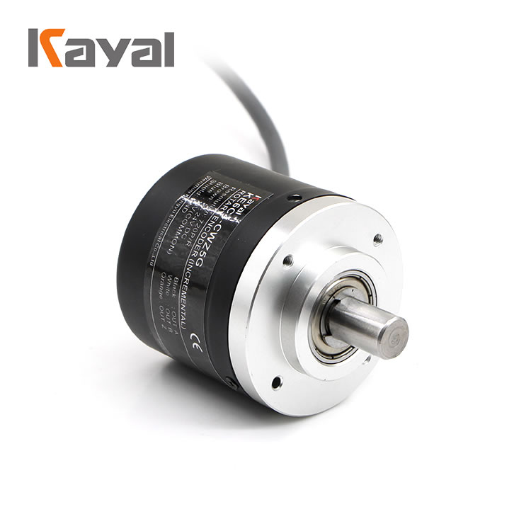 Hot selling 12v 24v optic absolute motor with rotary encoder