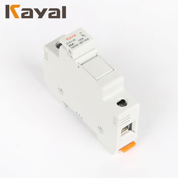 Reasonable Price Widely Use 1p 12v ,1000v Fuse Link Base , Fuse Holder
