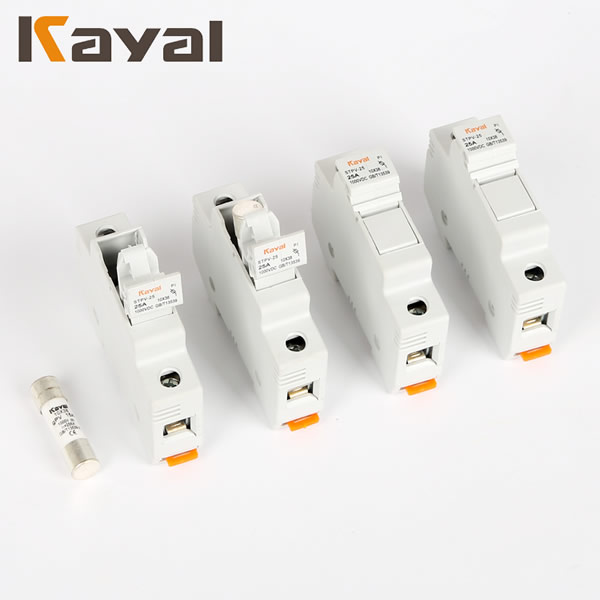Good Reputation Factory Provide Directly Plastic Silver Copper Dc 1000V Fuse Holder