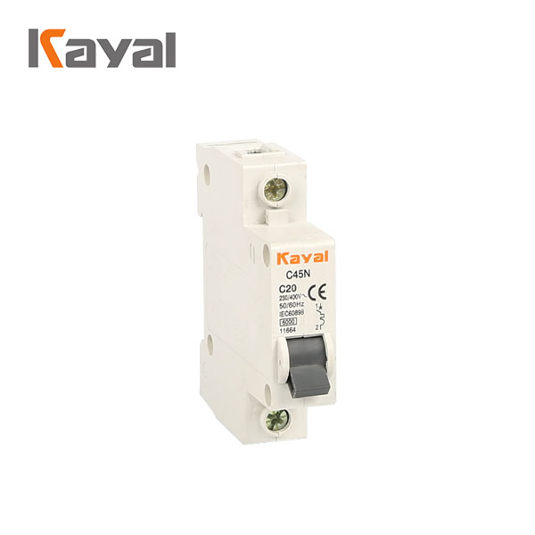 Overload protector 750v circuit breaker switch dc mcb for pv solar system