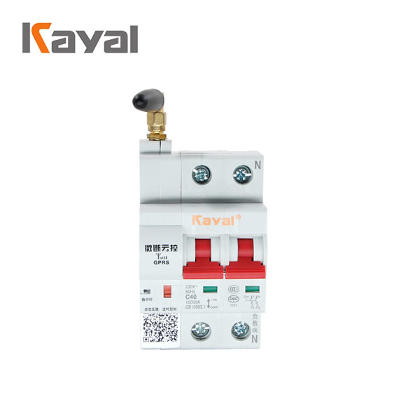 100A high current controlled circuit breaker wifi mcb