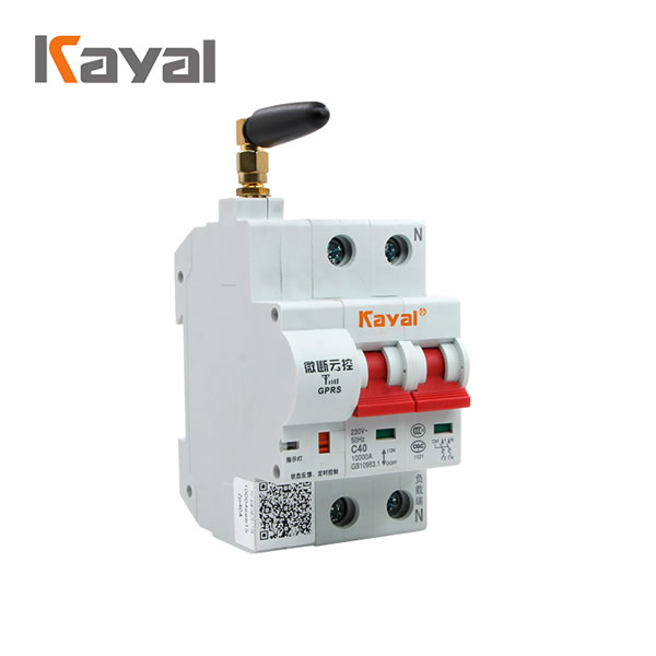 Hot Product AC MCB WIFi Circuit Breaker AC 50/60Hz Rated Voltage 230V/40