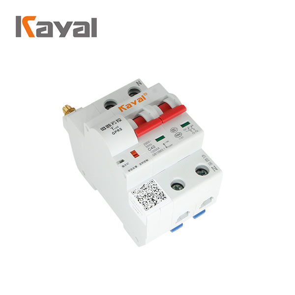 4P 40A 63A 80A 100A 125A smart wifi mcb electrical circuit breaker