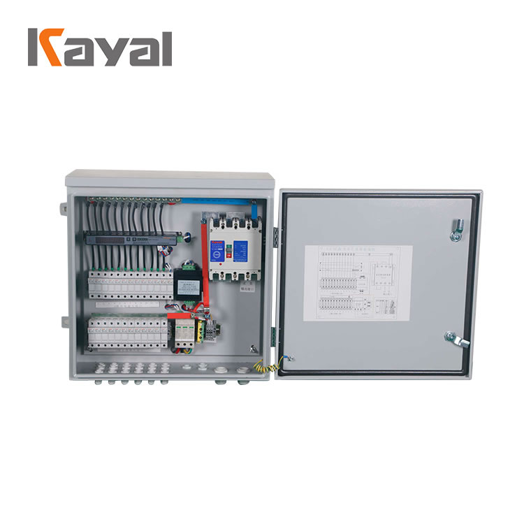 New type hot sell PV Solar DC 1000V 8 10 12 16 strings solar system power collect PV string combiner box
