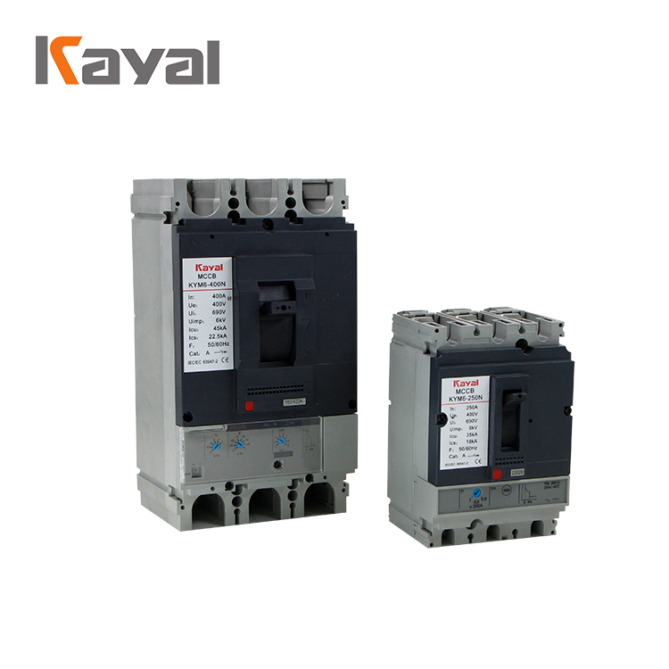 High breaking capacity NS silver ornamental electrical Molded case circuit breaker