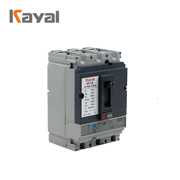 NS silver ornamental KNS electrical Molded case circuit breaker