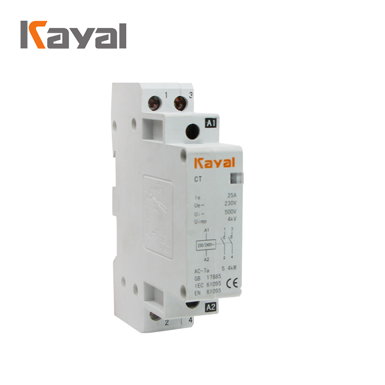 Home Use Modular Magnetic 1 Pole Household Contactor