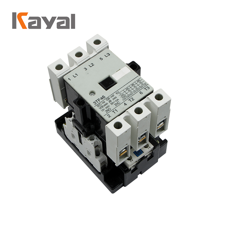 Kayal Factory 3TF Series Electrical Magnetic AC Contactor Connection for Sale
