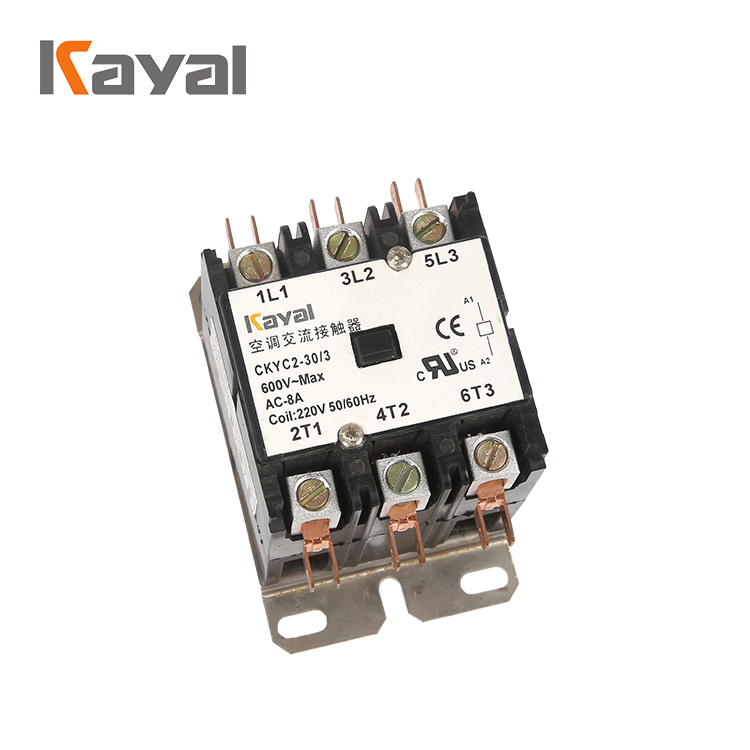 Kayal 30A Magnetic 24v Coil AC Air Conditioning Contactor