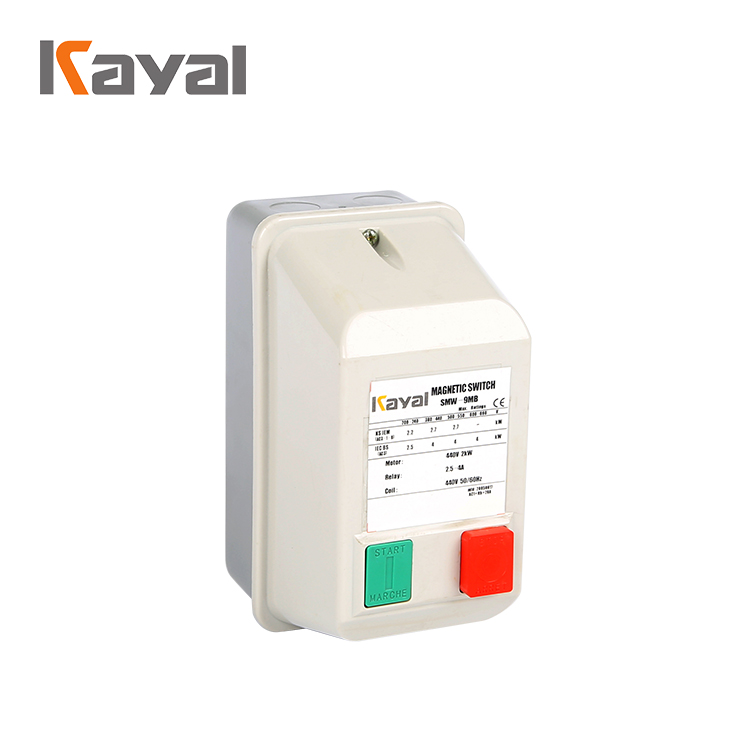Protection of The Motor's Balanced Overload And Phase Failure GMW 380V Magnetic Motor Starter