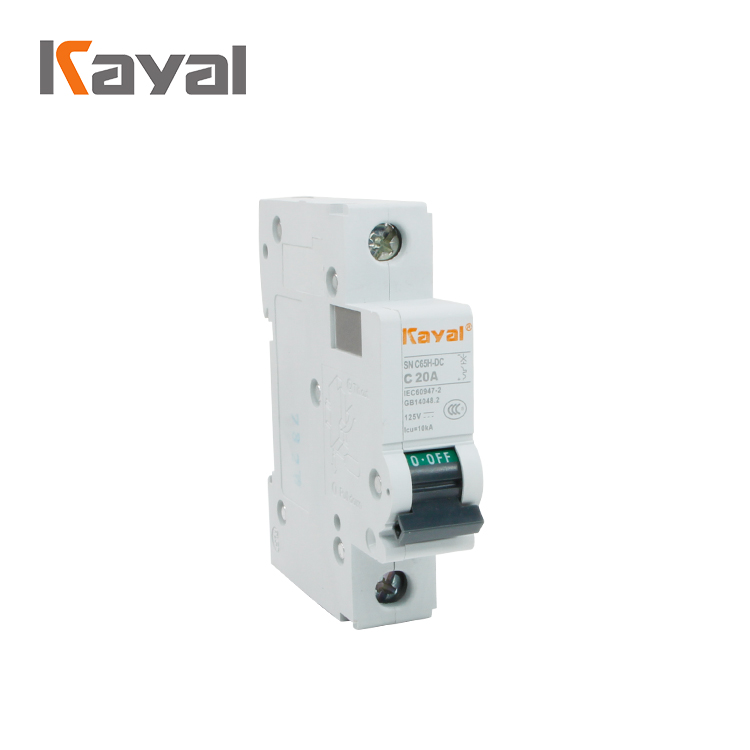 HOT sell C type mcb breaker c63 miniature dc circuit breaker / mcb