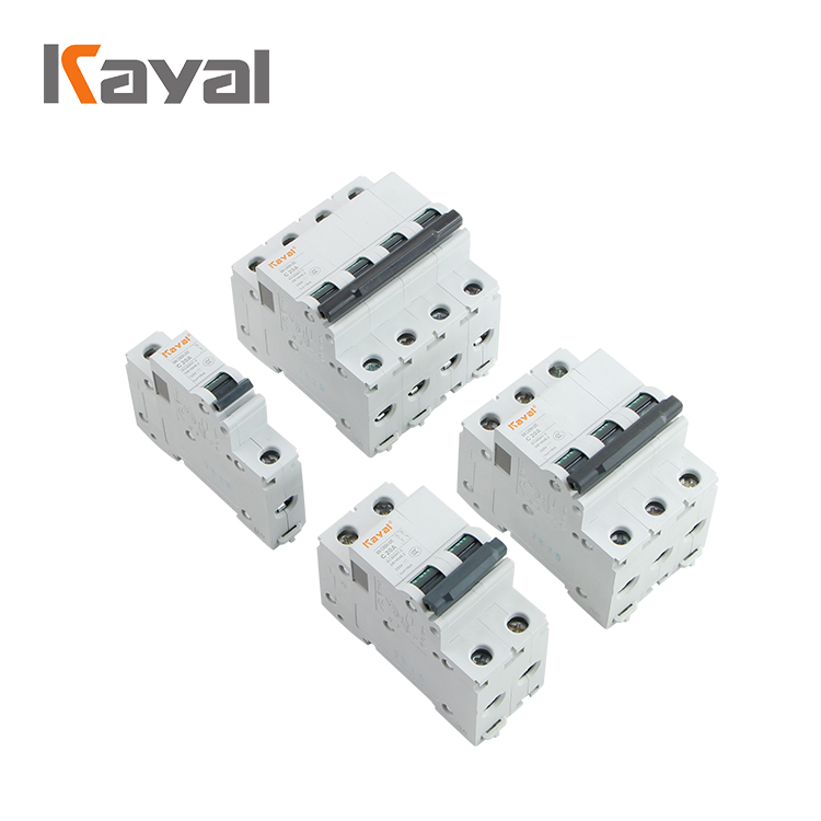 China Manufacture New type dc 2 amp mcb miniature circuit breaker