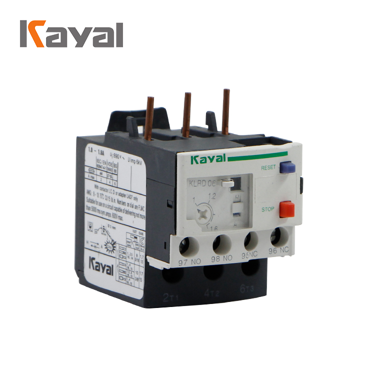 KAYAL new type LRD thermal compressor overload relay