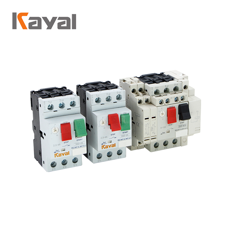 High electrical performance short-circuit breaker GV3 motor protector
