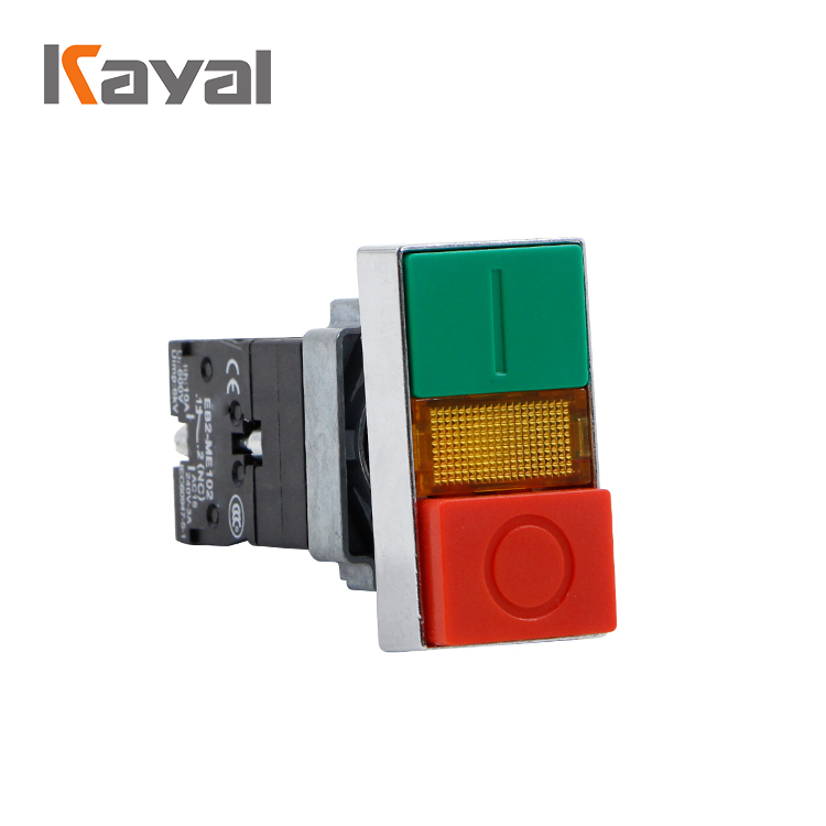 Square Push Button Switch